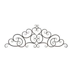 Tif. Maybe paint it champagne and hang over my headboard. Chantal Bronze Metal Plaque | Kirklands