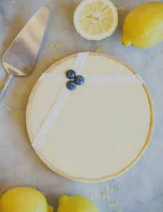 Duchess Bake Shop lemon cream tart