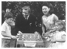 Princess Margaret of snowdon | Princess Margaret, Lord Snowdon and their children, David and ...