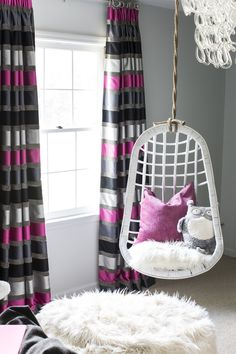 Diy Teen Bedroom Hanging Chairs Girls