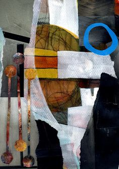 The Old Cells Studio - Michèle Brown Art: Two Tuesday collages
