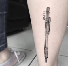 Galeria de 118 Tatuagens de arquitetura impressionantes - 95