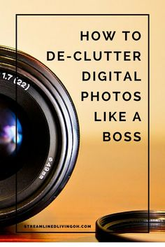 How to Declutter Digital Photos Like A Boss Read this to learn the best and easiest way to organize and de-clutter your photos. Get your digital life under control! Dslr Photography Tips, Photoshop Photography, Photography Backdrops, Photography Tutorials, Digital Photography, Inspiring Photography, Flash Photography, Creative Photography, Portrait Photography