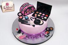 Mac Cosmetics Cake by Dolci Pasteleria | Cake Decorating Ideas
