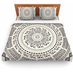 Featherweight Duvet Cover Famenxt Swadesi Soft Boho Mandala Great Gift (8,325 INR) ❤ liked on Polyvore featuring home, bed & bath, bedding, duvet covers, home & living, silver, lightweight duvet, zippered bedding, boho duvet and bohemian bedding