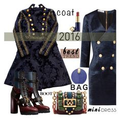 """""""Best trend of 2016"""" by nicolevalents ❤ liked on Polyvore featuring Pierre Balmain, Balmain, Burberry, Estée Lauder and Stephanie Johnson"""