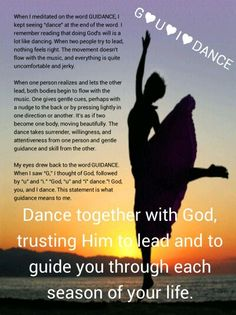 100 Days in Awe of God, Day 29: G♥U♥I♥DANCE