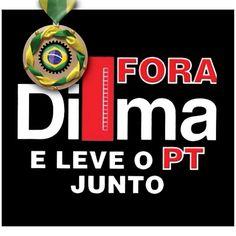 Imagens e fotos zoando a Dilma Rousseff