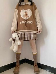Korean Girl Fashion, Fashion Mode, Aesthetic Fashion, Lolita Fashion, Aesthetic Clothes, Swaggy Outfits, Cute Casual Outfits, Pretty Outfits, Japanese Outfits
