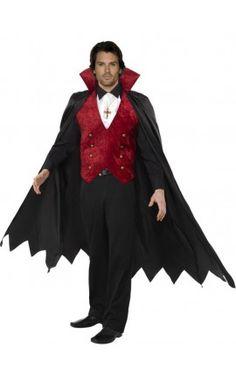 Disfraz de vampiro elegante