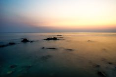 Calm and colorful sunset over the andaman sea seen from Koh Chang Thailand Stefan Johansson, Koh Chang, Thailand, Calm, Colorful, Sea, Celestial, Sunset, Water