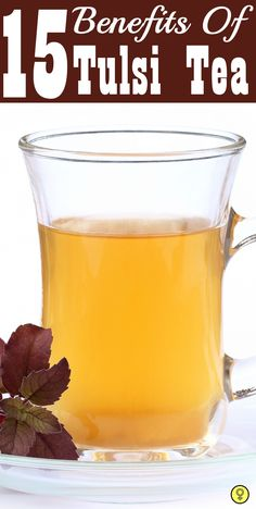 Let's have a look at the various benefits of tulsi tea: ... #health #tulsi #tulsitea