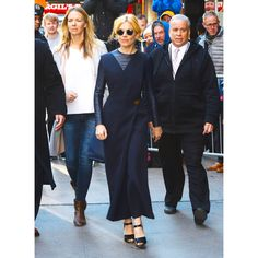 In Céline And Ray-Ban Sunglasses - Outside Good Morning America in New York City, 2015