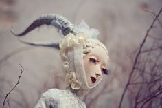 Art Doll PHOTO PRINT artprint by ComeGetSome on Etsy, $22.00