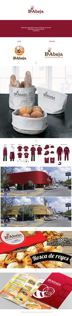 Rediseño de identidad visual y fachada de tienda, materiales promocionales, uniformes.