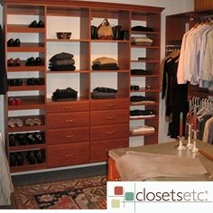 Large Closets narrow walk-in custom closet design with plenty of hanging storage