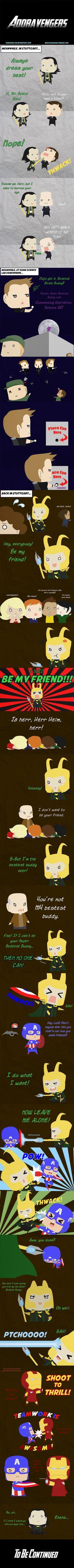 Adoravengers: Scene Eight by Comicker-Kai.deviantart.com on @deviantART