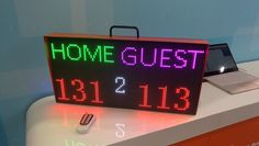 40inch Outdoor P10 Wifi Remote Control Led Sign Scrolling