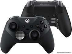 Play like a pro with the all new Xbox Elite Wireless Controller Series 2 Tailor the controller with new interchangeable thumbstick and paddle shapes Experience limitless customization and exclusive configuration options with the Xbox Accessories app Xbox One Controller, Xbox 360, Xbox Accessories, Xbox Console, Cool Things To Buy, Good Things, Usb, Black Friday Shopping, Xbox One Games