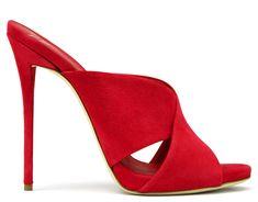 Giuseppe Zanotti Sandals - BELLA - Women's Red Sandals