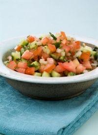Israeli salad More