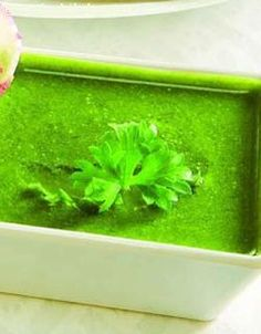 Green chutney is probably the most favourite Indian accompaniment. Every thing from crispy samosas to kebabs and tikkis are considered incomplete without this deliciously fresh preparation.  Hari Chutney is a simple mint and coriander flavoured chutney which makes a great sandwich spread. Mint adds freshness to this chutney where as the addition of lemon juice, enhances the flavours of the mint and the coriander and prevents discoloration of the greens. The chutney can be stored refrigerated ...