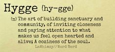 Hygge definition Word Nerd via lawhimsy
