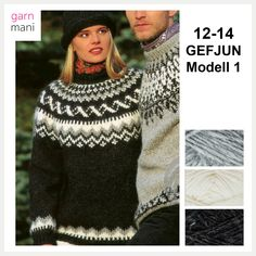 no - Spesialist på islandsk ull Christmas Sweaters, Knitting, How To Make, Knits, Fashion, Tricot, Threading, Blouse, Model