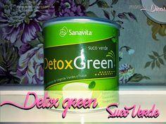 Manias e Dicas: Detox Green da Sanavita!