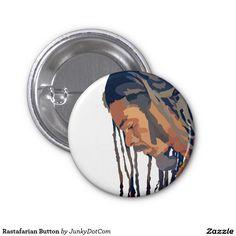 Rastafarian Button - Aug 30