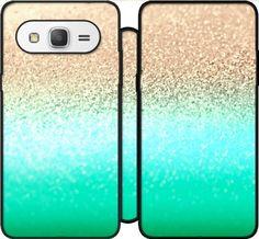 Wallet Case GATSBY AQUA GOLD for Samsung Galaxy Grand Prime