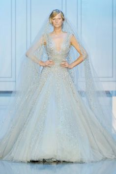 Bridal Gown: Elie Saab Fall 2011 Couture.