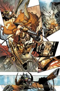 Thor's sister attacks in this amped preview for Angela: Asgard's Assassin #1 | Blastr