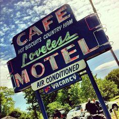 Loveless Cafe in Nashville, TN
