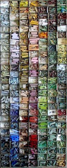 """The Belgian artist Mathieu Weemael's """"Pastel Collection"""" ~ Rustic Living ~ GJ * Ki . The pastel collection by Belgian artist Mathieu Weemaels ♡ ~ Rustic Living ~ GJ * Also check out Studios D'art, Frida Art, Pastel Art, Art Plastique, Textures Patterns, Art Supplies, Art Nouveau, Painting, Drawings"""