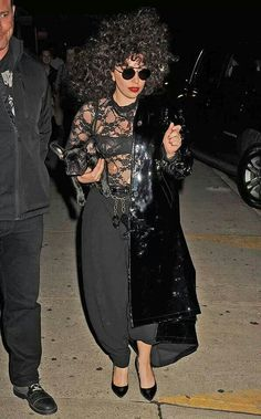 Gaga in NYC