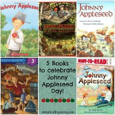 Celebrate Johnny Appleseed Day with these fun books! | embarkonthejourney.com