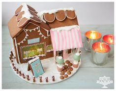 How We Made Our Gingerbread Bakery House