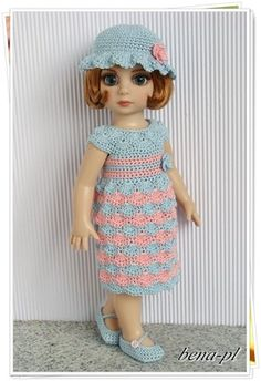 """..bena-pl.. Clothes for Tonner Patsy 10"""" & similar dolls  OOAK outfit"""