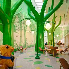 Estos son los hospitales infantiles más mágicos de la tierra.
