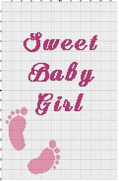 Ravelry: Sweet Baby Girl Graphghan Chart pattern by Wendy Stubbs
