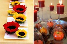 Cheap Home Decorating Ideas Fall Candle Decor Cute Fall Decorating