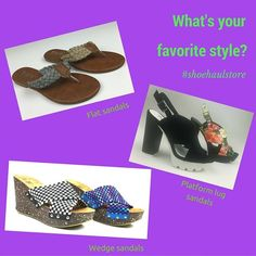 Sandals galore are in stock now! All kinds of styles - flats, lug platforms, wedges - which one do you like the best? Let us know in the comments!#summersandals #shoehaulstore#shoehaulic#westpalmbeach#thepalmbeaches#miami#soflorida#delraybeach#boynt