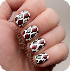 BeautyGnome: Christmas  #nail #nails #nailart