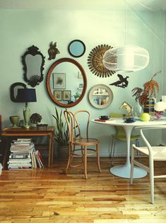 Interiors Round-Up: Beyond the standard gallery wall