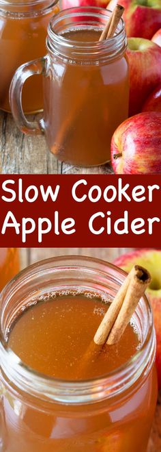 Slow Cooker Apple Cider Made From Scratch : Cuddle up and stay warm with a mug of spiced apple cider. This Slow Cooker Apple Cider is made from scratch and can be frozen to enjoy all winter long! Fall Recipes, Holiday Recipes, Thanksgiving Recipes Crockpot, Apple Crockpot Recipes, Thanksgiving Food, Simple Recipes, Spiced Apple Cider, Easy Apple Cider Recipe, Apple Cider Drink