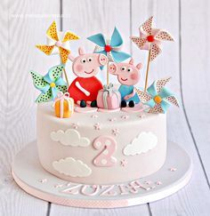 Peppa Pig Cake - Cake by Natalia Kudela