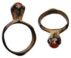 byzantine empire c 10th 12th century ad nice bronze ring