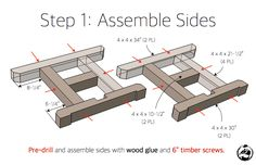H-Leg Dining Table Rogue Engineer Woodworking Patterns, Woodworking Projects Diy, Woodworking Plans, Woodworking Mallet, Woodworking Machinery, Wood Projects, Dinning Room Tables, Dining Table Legs, Table Bases