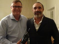 Mastercooks President with Manuel Fernandes Magalhaes - Product Partner TOP Olive Oil Vale de Arca